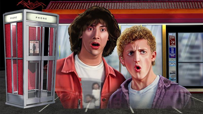 Bill and Ted's Excellent Adventure Slots Features