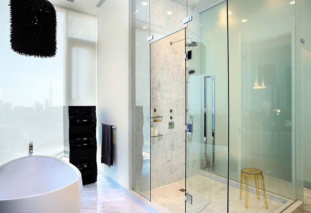 Here are simple tricks to help you fix your frameless shower door