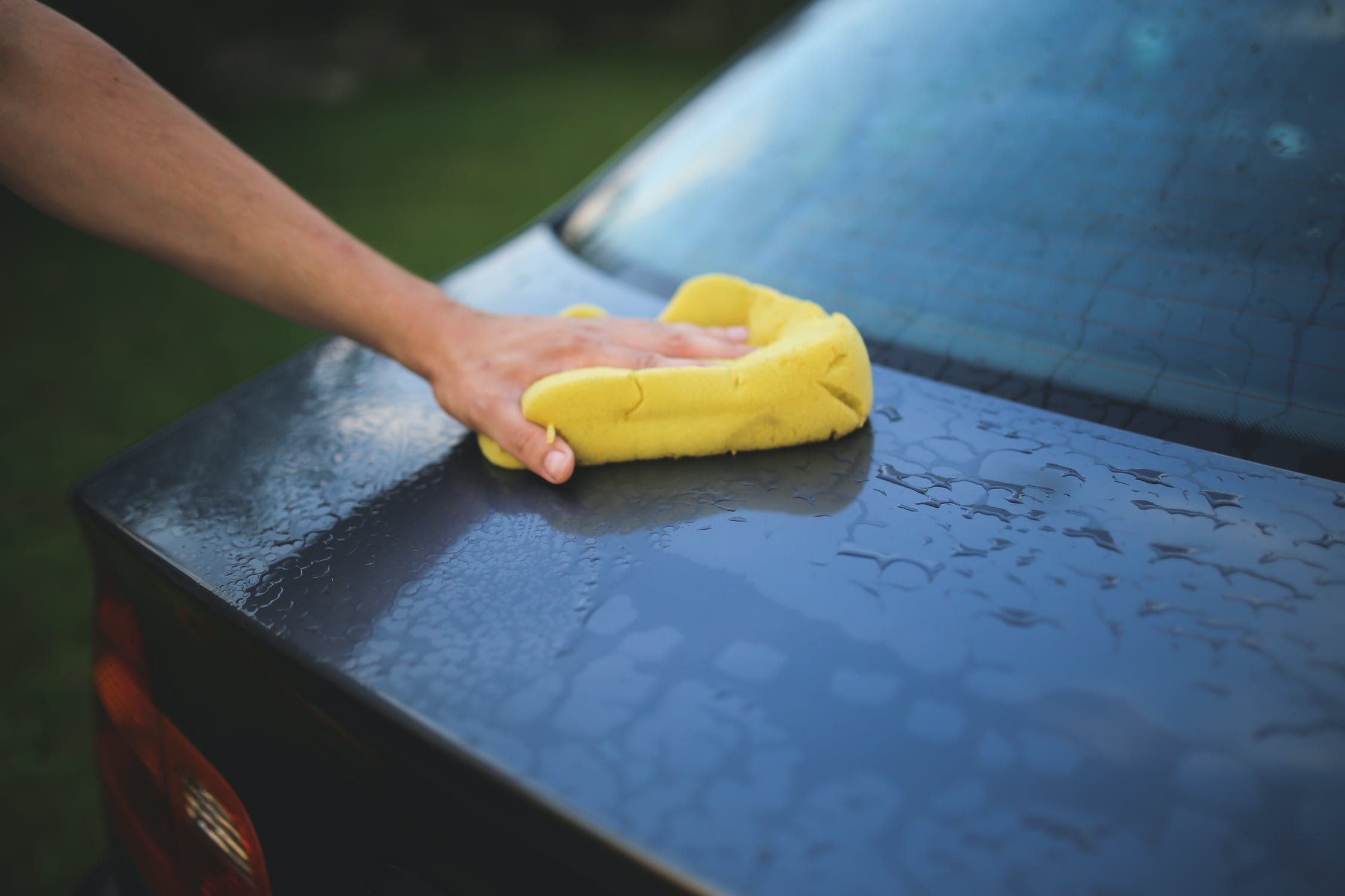 Dry your car professionally